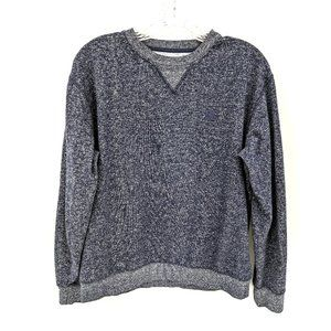 DC Navy Marled Crew Neck Jersey Top
